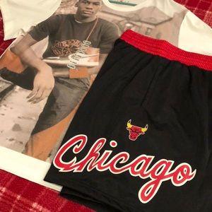 Jordan Shirt&Shorts Combo. Chicago Bulls